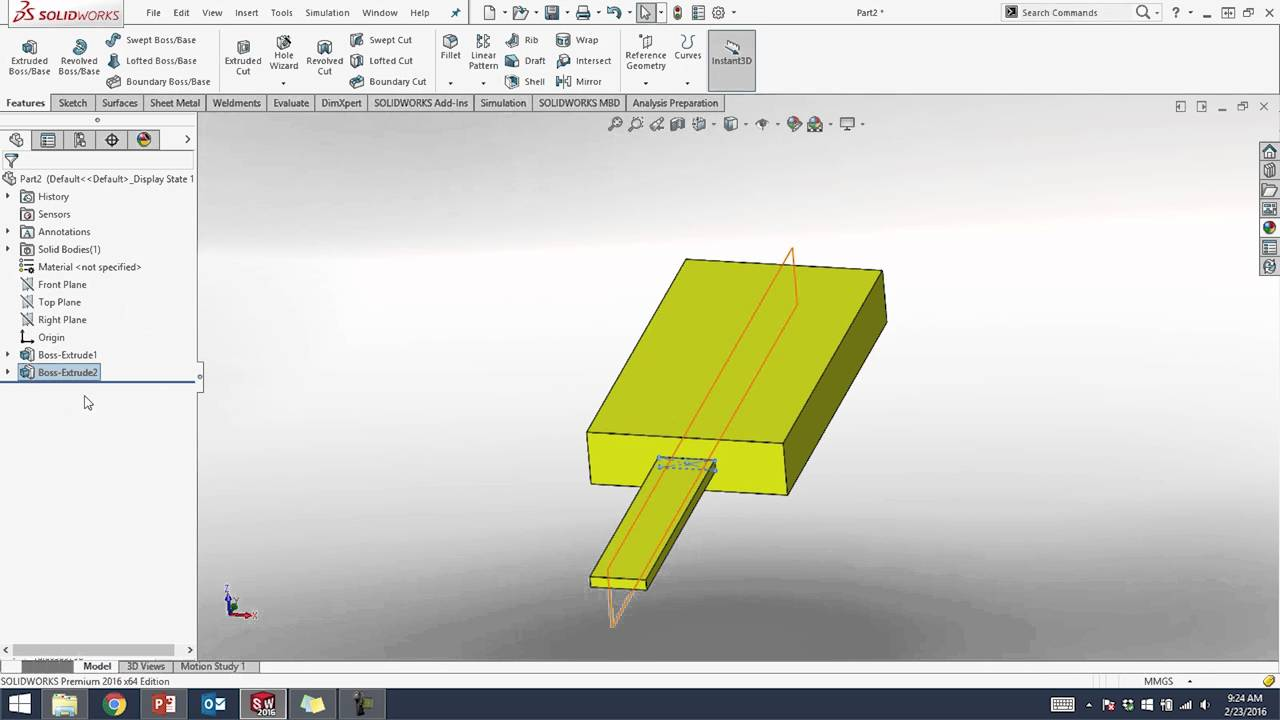 3D CAD I: SolidWorks (Compressed)-Classes